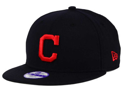 Cleveland Indians MLB Youth Major Wool 9FIFTY Snapback Cap Hats