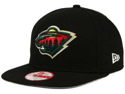 Minnesota Wild NHL Flag Stated 9FIFTY Snapback Cap Hats