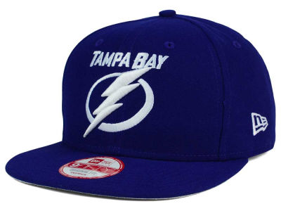 Tampa Bay Lightning NHL Flag Stated 9FIFTY Snapback Cap Hats