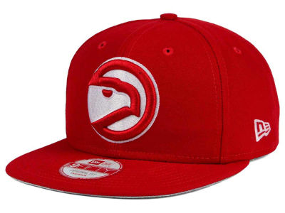 Atlanta Hawks NBA Flag Stated 9FIFTY Snapback Cap Hats