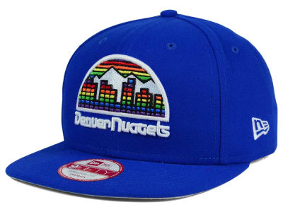 Denver Nuggets NBA Flag Stated 9FIFTY Snapback Cap Hats
