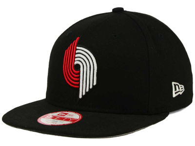 Portland Trail Blazers NBA Flag Stated 9FIFTY Snapback Cap Hats