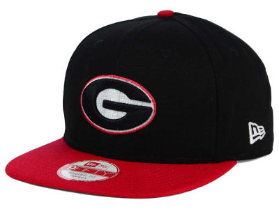 Georgia Bulldogs NCAA Shore Snapper 9FIFTY Snapback Cap Hats