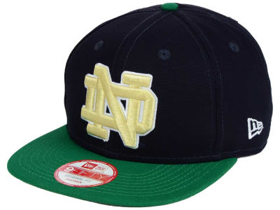Notre Dame Fighting Irish NCAA Shore Snapper 9FIFTY Snapback Cap Hats