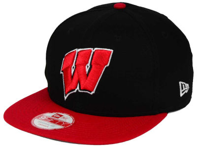 Wisconsin Badgers NCAA Shore Snapper 9FIFTY Snapback Cap Hats