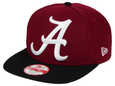 Alabama Crimson Tide NCAA Logo Grand Redux 9FIFTY Snapback Cap Hats