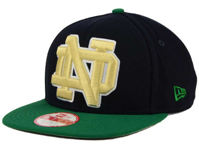 Notre Dame Fighting Irish NCAA Logo Grand Redux 9FIFTY Snapback Cap Hats