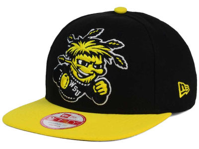 Wichita State Shockers NCAA Logo Grand Redux 9FIFTY Snapback Cap Hats