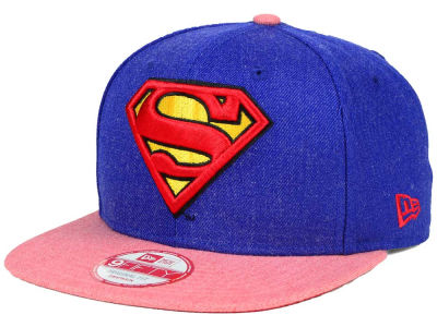 DC Comics Superman Hero Heather 2 9FIFTY Snapback Cap Hats