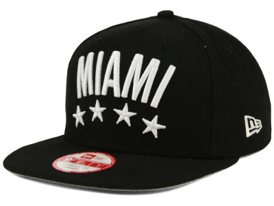 Miami City Flag Stated 9FIFTY Snapback Cap Hats
