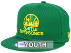 Seattle SuperSonics New Era NBA HWC Youth All Day 9FIFTY Snapback Cap Adjustable Hats