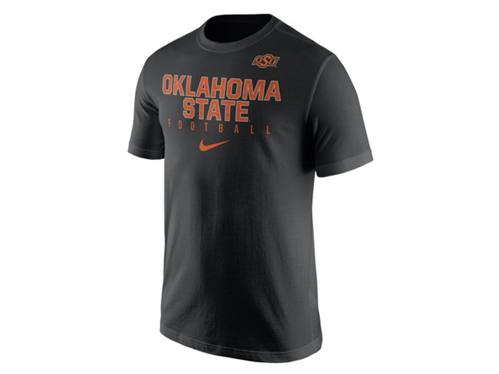 outlet store 87a60 baa50 high-quality Oklahoma State Cowboys Nike NCAA Mens Cotton Practice T-Shirt.