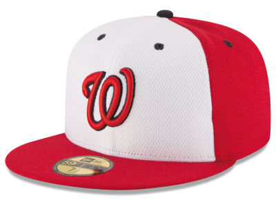 Washington Nationals MLB 2016 Diamond Era 59FIFTY Training Cap Hats