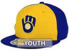 Milwaukee Brewers New Era MLB Kids 2016 Diamond Era 59FIFTY Cap Fitted Hats
