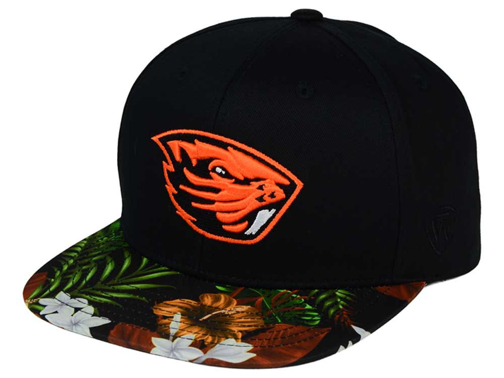 new style 3cd4f 7d343 Oregon State Beavers Top of the World NCAA Paradise Snapback Cap outlet