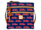 Ole Miss Rebels Dooney & Bourke Dooney & Bourke Triple Zip Crossbody Bag Luggage, Backpacks & Bags