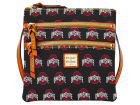 Dooney & Bourke Triple Zip Crossbody Bag