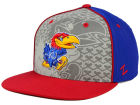 Kansas Jayhawks Top of the World NCAA Reflector Snapback Cap Adjustable Hats