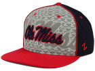 Ole Miss Rebels Top of the World NCAA Reflector Snapback Cap Adjustable Hats