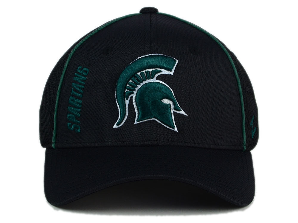 brand new 9f373 917e7 free shipping Michigan State Spartans Zephyr NCAA Punisher Stretch Hat