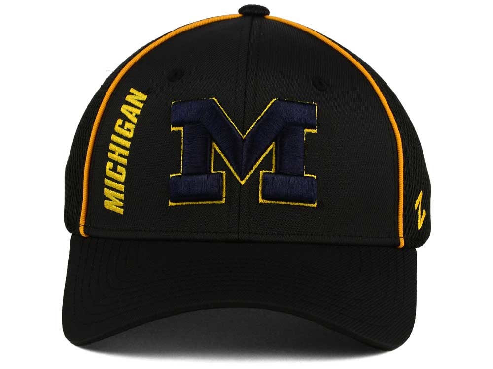 new products 974fe 922e7 Michigan Wolverines Zephyr NCAA Punisher Stretch Hat 70%OFF