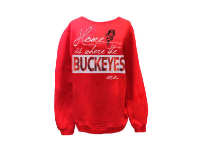 Gameday Couture NCAA Women's Home of the Buckeyes Crew Neck Sweatshirt