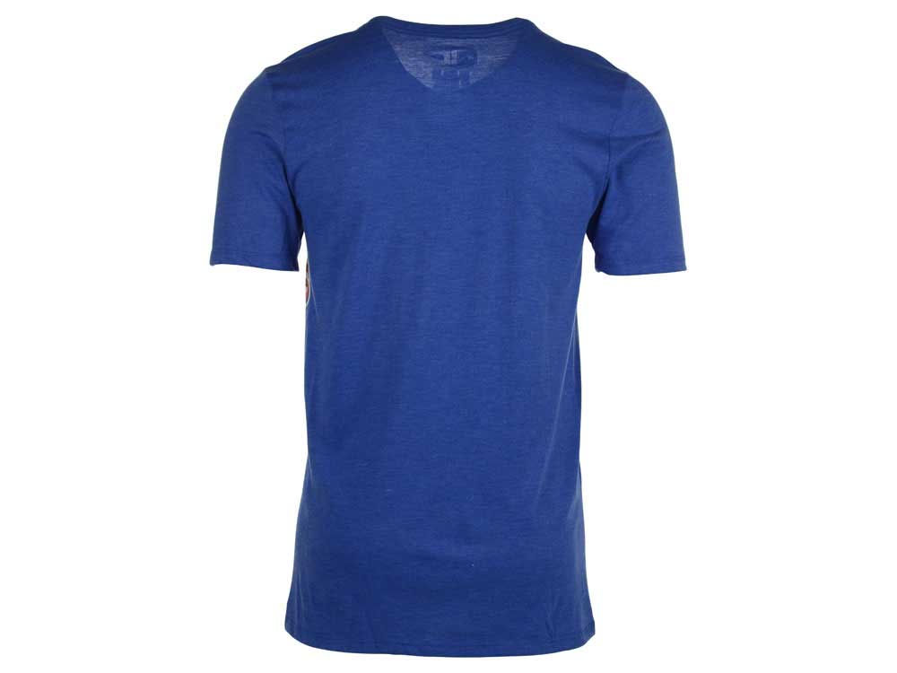 f7951e72cda 50%OFF Texas Rangers Nike MLB Men's Coop Tri-Blend Logo T-Shirt ...