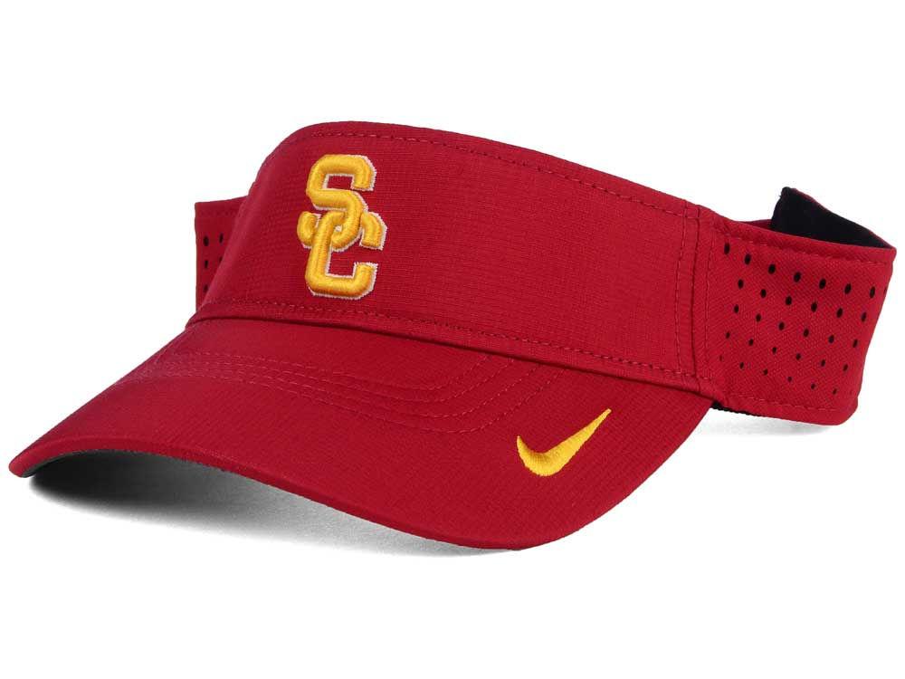 brand new c5067 3ee02 hot sale USC Trojans Nike NCAA Dri-FIT Vapor Visor
