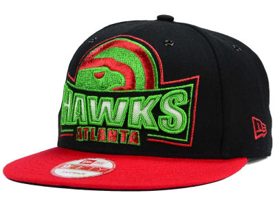 Atlanta Hawks NBA HWC Metallic Grader 9FIFTY Snapback Cap Hats