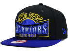 Golden State Warriors New Era NBA HWC Metallic Grader 9FIFTY Snapback Cap Adjustable Hats