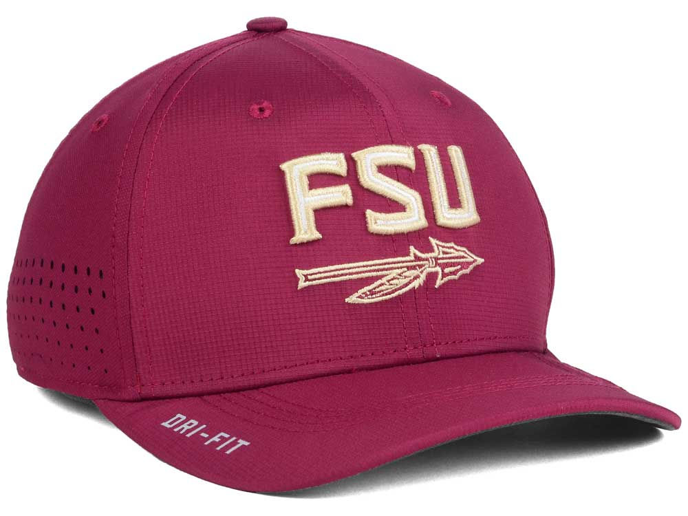 the latest f4d4e 0c6b5 Florida State Seminoles Nike NCAA Vapor Sideline Swoosh Flex Cap best