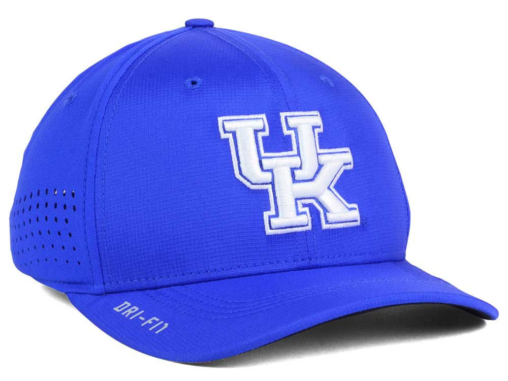 e95eeeea224 cheap Kentucky Wildcats Nike NCAA Vapor Sideline Swoosh Flex Cap ...