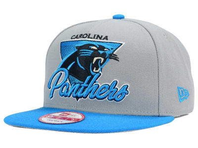 Carolina Panthers NFL Chase Gray 2 Tone 9FIFTY Snapback Cap Hats