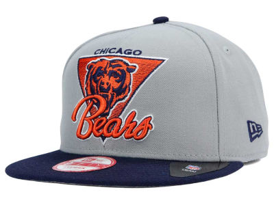 Chicago Bears NFL Chase Gray 2 Tone 9FIFTY Snapback Cap Hats