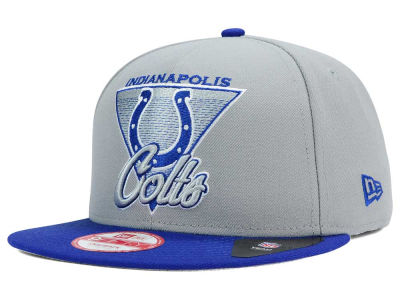Indianapolis Colts NFL Chase Gray 2 Tone 9FIFTY Snapback Cap Hats