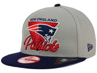 New England Patriots NFL Chase Gray 2 Tone 9FIFTY Snapback Cap Hats