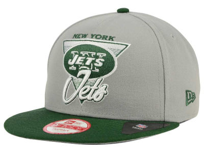 New York Jets NFL Chase Gray 2 Tone 9FIFTY Snapback Cap Hats