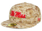 Ole Miss Rebels New Era NCAA AC 59FIFTY Cap Fitted Hats
