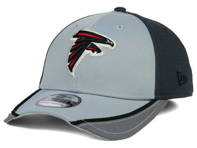 Atlanta Falcons NFL Chase Gray Reflective 39THIRTY Cap Hats