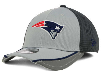 New England Patriots NFL Chase Gray Reflective 39THIRTY Cap Hats