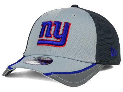 New York Giants NFL Chase Gray Reflective 39THIRTY Cap Hats