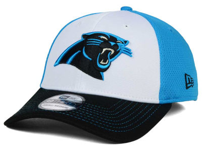 Carolina Panthers NFL Chase White Front Mesh 39THIRTY Cap Hats