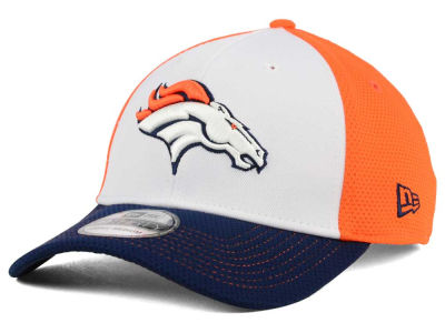 Denver Broncos NFL Chase White Front Mesh 39THIRTY Cap Hats