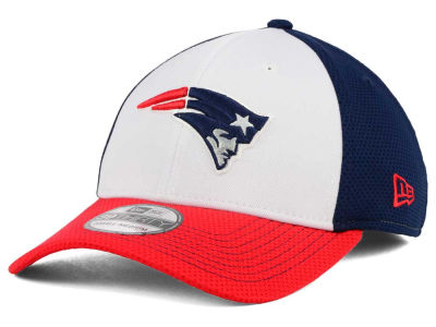 New England Patriots NFL Chase White Front Mesh 39THIRTY Cap Hats