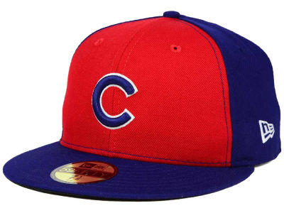 Chicago Cubs MLB The Playoff Push 59FIFTY Cap Hats