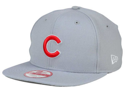 Chicago Cubs MLB Gray Chase 9FIFTY Snapback Cap Hats