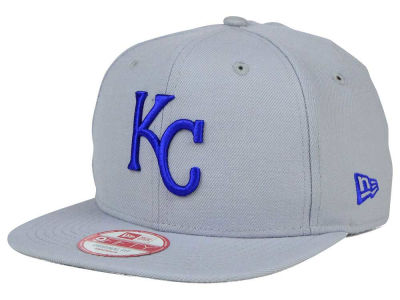 Kansas City Royals MLB Gray Chase 9FIFTY Snapback Cap Hats