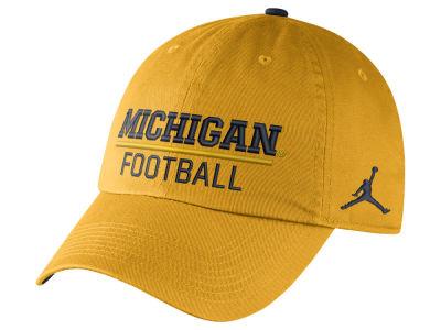 buy online 2ac41 603d7 Michigan Wolverines Nike NCAA H86 Adjustable Cap   lids.com