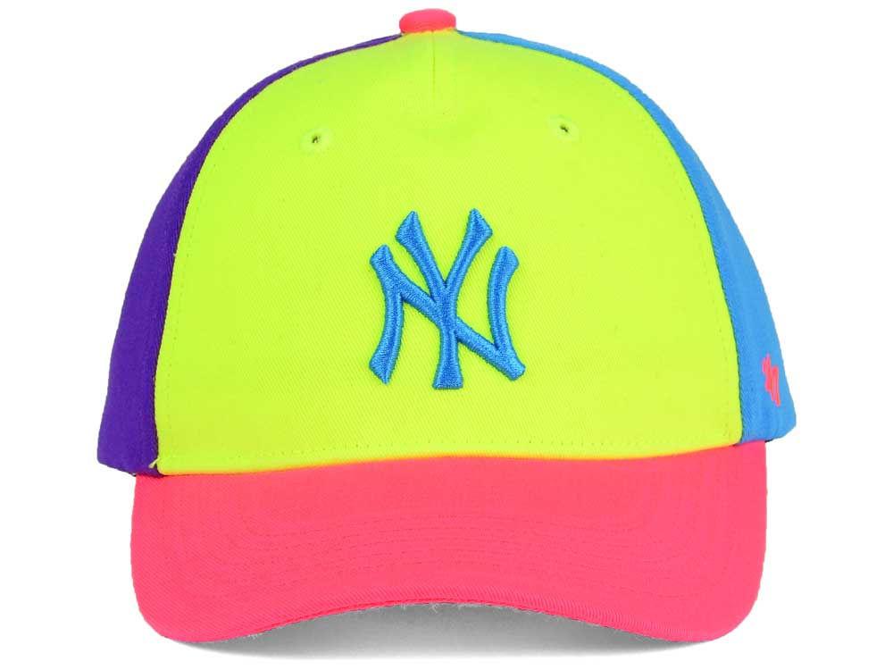 1bfb60c97c7 New York Yankees  47 MLB Girls Britley  47 MVP Cap 85%OFF ...