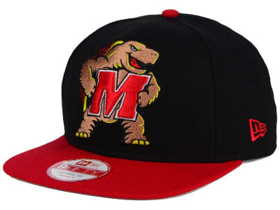 Maryland Terrapins NCAA Logo Grand Redux 9FIFTY Snapback Cap Hats
